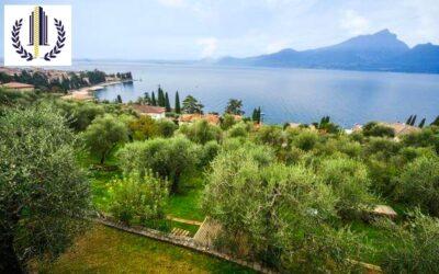 Torri del Benaco, villa singola vista lago con piscina privata