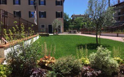 Castelnuovo del Garda, villa in nuovo residence con piscina