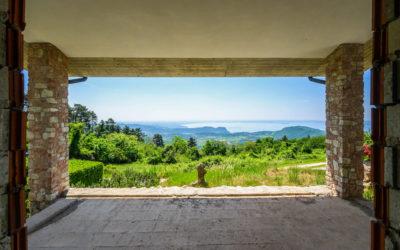 San Zeno di Montagna, porzione di bifamiliare vista lago