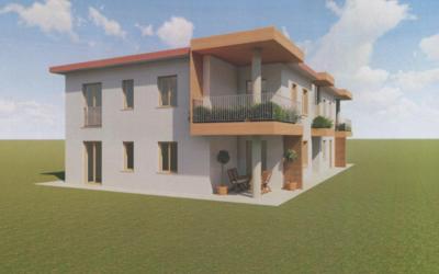 Castelnuovo del Garda, nuovo quadrilocale con ampi terrazzi
