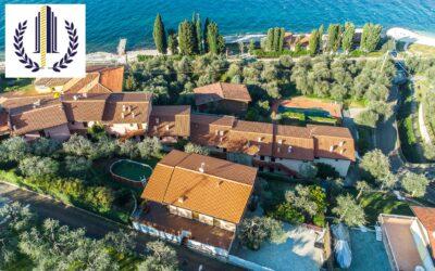 Brenzone sul Garda fraz. Castelletto, villa vista lago