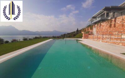Torri del Benaco, quadrilocale in residence con piscina